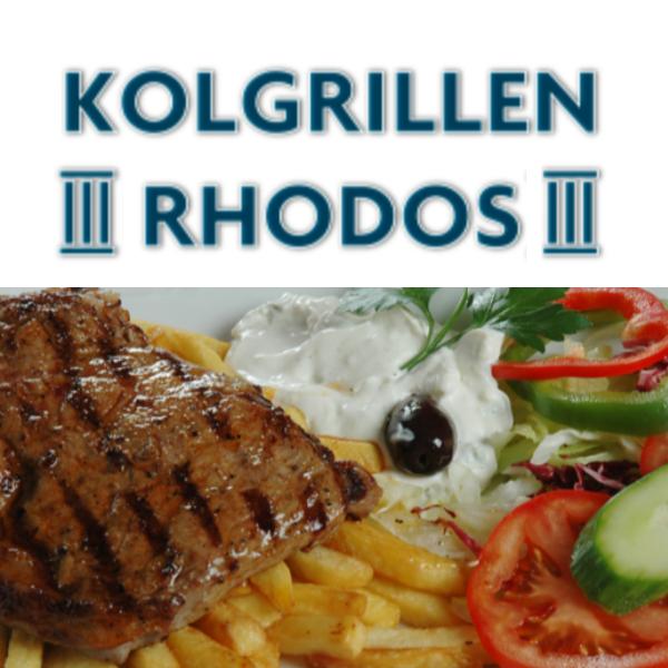 Rhodos Grekiska Kolgrillen